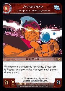 Agamemno, Interplanetary Conqueror - Foil