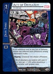 Act of Defiance, Team-Up - Foil