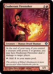 Exuberant Firestoker on Channel Fireball