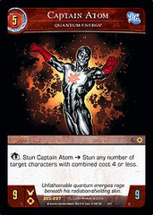 Captain Atom, Quantum Energy - Foil