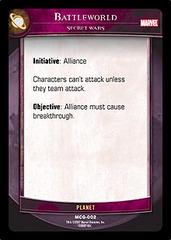 Battleworld, Secret Wars - Foil