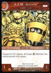 A.I.M. Agents, Army - A.I.M. - Foil