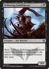 Bellowing Saddlebrute - Foil