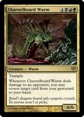 Charnelhoard Wurm on Channel Fireball