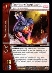 Genis-Vell  Captain Marvel, Son of Mar-Vell - Foil