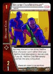 Hellfire Club Mercenary, Army - Foil