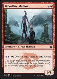 Bloodfire Mentor - Foil