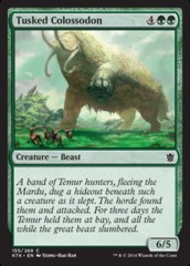 Tusked Colossodon - Foil