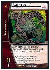 Sabretooth, Feral Rage - Unlimited Edition