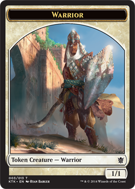 Warrior Token (003/013 Sword & Shield)