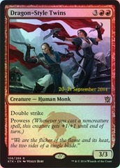 Dragon-Style Twins - Foil - Prerelease Promo