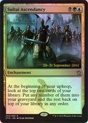 Sultai Ascendancy - Khans of Tarkir Prerelease Promo