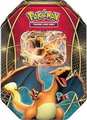 Pokemon EX Power Trio Tin Charizard -- 2016 VERSION