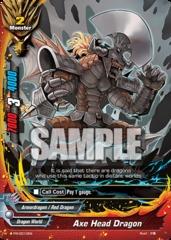 Axe Head Dragon - PR/0010EN - PR