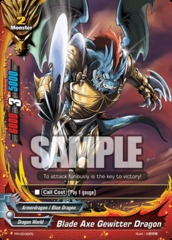 Blade Axe Gewitter Dragon - PR/0036EN - PR