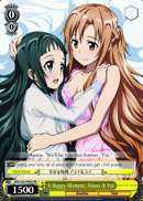 A Happy Moment, Asuna & Yui - SAO/S20-PE03 - PR