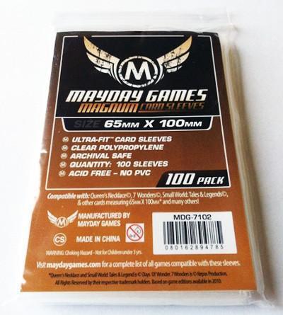 100 ct Magnum Ultra-Fit 7 Wonders Card Sleeves