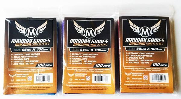 100 ct Magnum Ultra-Fit 7 Wonders Card Sleeves - 3 Pack