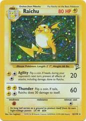 Raichu - 16/130 - Holo Rare - Unlimited Edition