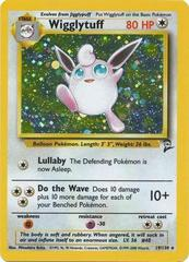 Wigglytuff - 19/130 - Holo Rare - Unlimited Edition