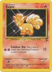 Vulpix - 99/130 - Common - Unlimited Edition