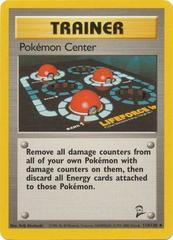Pokemon Center - 114/130 - Uncommon - Unlimited Edition