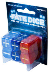 Fate Dice: Dresden Files - Winter Knight Dice