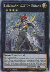 Evilswarm Exciton Knight - MP14-EN224 - Secret Rare - Unlimited