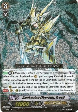 Awakening Liberator, Freed - PR/0121EN - PR