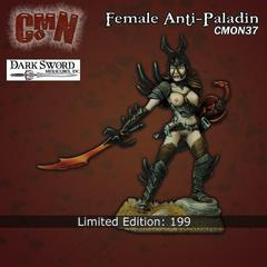 CMON Contest 15 - Female Anti-Paladin from Dark Sword Miniatures (Limited Edition)