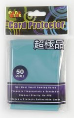 Gogo Gear Small Sleeves (50ct) - Cyan Blue