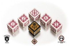 Warmachine Protectorate of Menoth Faction Dice Set