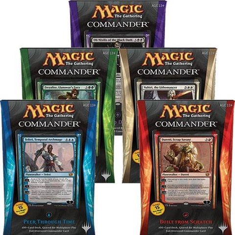 Commander 2014 (C14) - Complete Set of 5