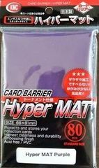 KMC Hyper Mat Purple Sleeves (80 ct) on Channel Fireball