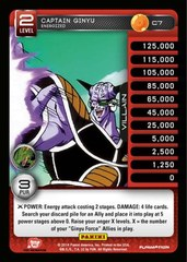 Captain Ginyu - Energized C7