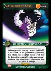 Saiyan Energy Toss C54