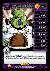 Guldo - Ginyu Force - Foil