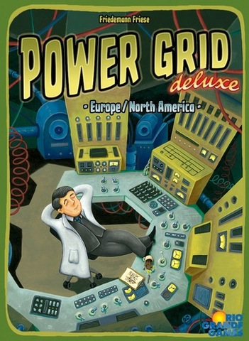 Power Grid Deluxe: Europe/North America