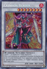 Crimson Blader - LC5D-EN074 - Secret Rare - 1st Edition on Channel Fireball