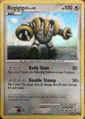 Regigigas 4/17 - Pokemon Holo Promo Pop Series 9