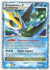 Empoleon Lv X Promo - Pokemon Diamond Pearl DP11