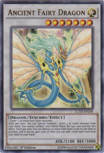 Ancient Fairy Dragon - LC5D-EN238 - Ultra Rare - 1st Edition