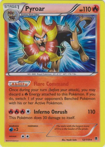 Pachirisu 25//119 Phantom Forces Reverse Holo Mint Pokemon Card