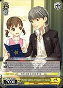 P4/EN-S01-008 U Friendly Siblings Protagonist & Nanako