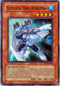 Elemental Hero Bubbleman - DP1-EN009 - Common - 1st Edition