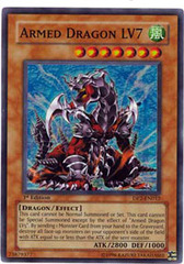 Armed Dragon LV7 - DP2-EN012 - Super Rare - 1st Edition on Channel Fireball