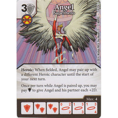 Angel - Superhero (Die  & Card Combo)
