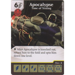 Apocalypse - Time of Testing (Die  & Card Combo)