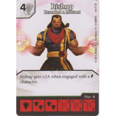 Bishop - Branded a Mutant (Die  & Card Combo)