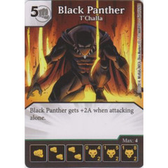 Black Panther - T'Challa (Die  & Card Combo)